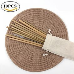 Bamboo Drinking Straws 10 Pcs Set Price: US $17.02 & FREE Shipping 🤔 🤔🤔 Curious about eco-friendly products? 🌿🐼🐾 Want to make a difference? 💃🕺😺 Then be part of the solution 💚✅🌌 don't be part of the problem 💩⚡📴 #zerowaste #sustainable #noplastic #eco #ecofriendly #reusable #plasticfreejuly #vegan #sustainableliving #reuse #gogreen #zerowastehome #sustainability #environment #stasherbag #nowaste #zerowastelifestyle #plantbased #recycle #plasticpollution #wastefree… Bamboo Shop, Buy Bamboo, Plastic Free July, No Plastic, Metal Straws, Plastic Pollution, No Waste, Sustainable Living, Biodegradable Products