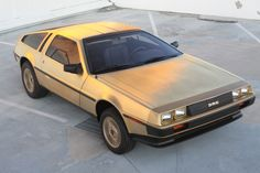 Built in 1981, this 24-karat gold-plated DeLorean listed in their Christmas catalog for $85,000. This DeLorean was displayed in the lobby of a Texas bank from the time it was purchased in 1981 until it was donated to the Petersen Automotive Museum in 2003. It has traveled a mere 7.4 miles since new and remains in entirely original condition.