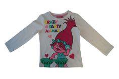 Trolls Mädchen Kinder T-Shirt Gr.104-140 Shirt kurzarm Pullover neu!