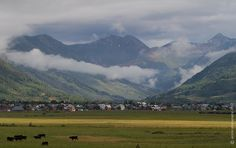 Misty Crested Butte Morning