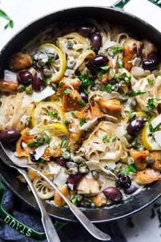 One Pot Mediterranean Chicken Pasta - The Modern Proper | Kitchn