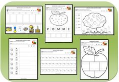 J'aime les pommes Science Resources, Activities, French Language Lessons, French Classroom, French Immersion, Teaching Tools, Teaching English, Pre School, Kindergarten