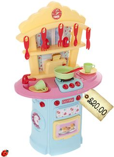 AMAZING! Total Play Kitchen For Just £20 at John Lewis!