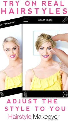 Try Different Hairstyles, Try On Hairstyles, Virtual Hair Makeover, Virtual Hairstyles Free, Hair Changer, Hairstyle App, Beauty Tips, Beauty Hacks, Foods For Healthy Skin