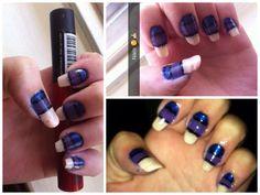 DIY | nails | stripes | nail art