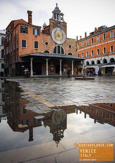 Reflection of Venice Italy