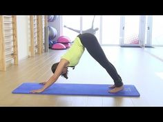 Ma routine 10 min yoga/relax. (globale: dos, ventre,périnée...) - YouTube
