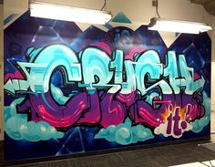 THE MURAL CO Professional Graffiti Artists for Hire is part of Graffiti wall art - Graffiti Art Drawings, Graffiti Doodles, Graffiti Designs, Graffiti Wall Art, Graffiti Painting, Murals Street Art, Street Art Graffiti, Graffiti Artists, Graffiti Styles