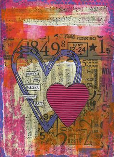 "I don't know why this ism but I always feel myself drawn to artwork depicting numbers.  Odd for one who hated math, instead pursuing English Literature and Creative Writing. But now, numbers, time, clock gears, Einstein's theories, Leonardo's notebooks...they all fascinate me, in a good way. ❤""No Heart without Art""by strawberryredhead, via Flickr❤"