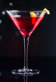 Irish Manhattan: 2 oz Tullamore D.E.W. Irish Whiskey, ½ oz sweet vermouth, 1 dash each: maraschino liqueur, Angostura bitters and orange bitters, 1 pinch orange zest and 1 maraschino cherry. Combine all ingredients in a mixing glass filled with ice; stir vigorously. Strain into a chilled martini glass. Garnish with orange zest and maraschino cherry. Cocktail Drinks, Cocktail Recipes, Cocktails, Tequila, Vodka, Good Spirits, Orange Zest, Irish Whiskey, Fine Wine