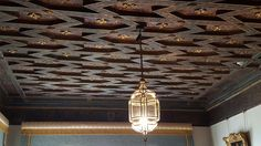 Light fixture in guest house