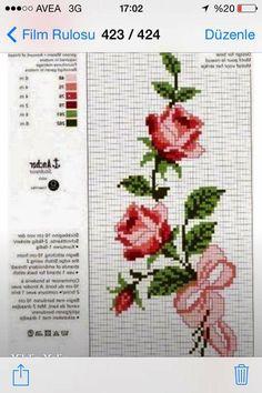 Cross Stitch Embroidery, Cross Stitch Patterns, Rosa Shabby Chic, Cactus E Suculentas, Bargello, Cross Stitch Flowers, Blackwork, Needlepoint, Tatting