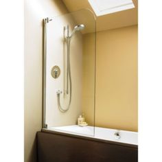 Swing – Bathscreens - Showerlux Bath Screens - possibly the hinge arrangement may stop leaks??? - no price