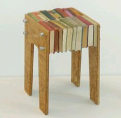 Recycled Books furniture