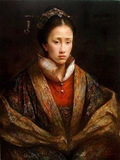 Chinese painter born in Yong Zhou - Hunan Province in 1971