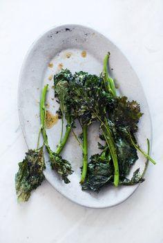 Roasted broccoli rab