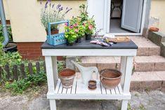 Garden Table, Diy Table, Furniture, Home Decor, Decoration Home, Room Decor, Handmade Table, Home Furnishings, Home Interior Design