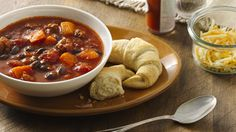 Sweet potatoes and black beans add a southwestern flair to this bold and hearty chili.