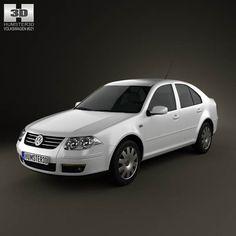 Volkswagen Bora Classic 3d model from humster3d.com. Price: $75