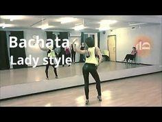 Bachata lady style class - Anna LEV - YouTube