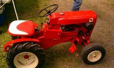 Yard Tractors, Small Tractors, Antique Tractors, Vintage Tractors, Wheel Horse Tractor, Garden Tractor Pulling, Classic Tractor, Lawn Equipment, Lawn Maintenance
