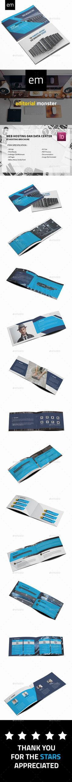 Web Hosting and Data Center Brochure A5