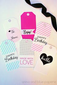 free printable gift tags @Anna Totten Totten Totten and blue paperie