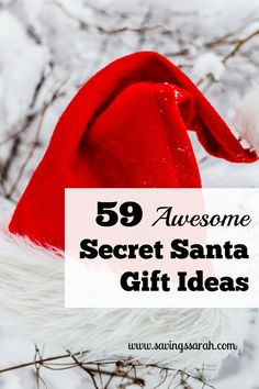 Are you taking part in a Secret Santa Gift Exchange? Give awesome gifts on the sly with these 59 Secret Santa Gift Ideas. Are you taking part in a Secret Santa Gift Exchange. Give awesome gifts on the sly with these 59 Secret Santa Gift Ideas. Secret Santa Poems, Secret Santa Christmas Gifts, Funny Secret Santa Gifts, Secret Santa Presents, Christmas Gifts For Coworkers, Homemade Christmas Gifts, Diy Christmas, Handmade Christmas, Christmas Neighbor