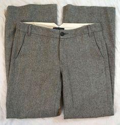 Banana Republic Martin Fit Wool Blend Gray Womens Pants Size 8R (S8#931) #BananaRepublic #DressPants Denim Branding, Talbots, Dress Pants, Wool Blend, Banana Republic, Casual Shorts, Pants For Women, Brand New, Gray