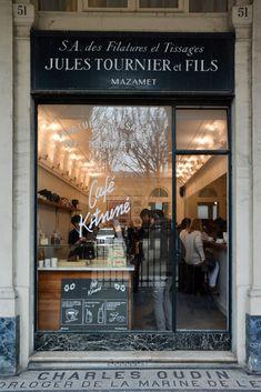 Le café Kistune dans le quartier du Palais Royal