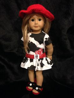 $22 american girl doll cow girl