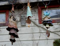 double and triple ceramic bells