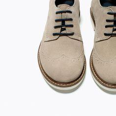 LEATHER BLUCHER-Shoes-Boy-KIDS-SALE   ZARA United States