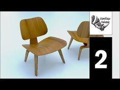 Tutorial Rhino 3D | Modelar Silla LCW en Rhinoceros (2/6) - YouTube