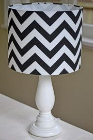 For your friend who stays ahead of the trends: Chevron home design