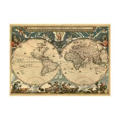15 Really Cool World Map Wallpapers | Blaberize ❤ liked on Polyvore