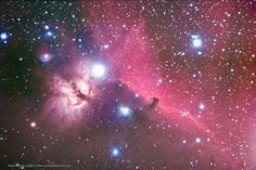 Here is my Horsehead Nebula.  Love this area of the sky, but am excited to re-shoot this come next winter.  Just don't think that I've nailed it yet.  Shot with Canon 20da and an Orion 80ED (cheap scope).