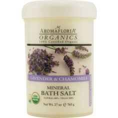 Organics aromatherapy by Aromafloria   lavender & chamomile mineral bath salt
