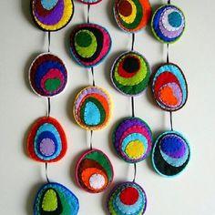 Cool felt circles