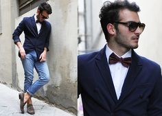 Persol Sunglasses, Zara Jacket, Levis Jeans, Moreschi Shoes