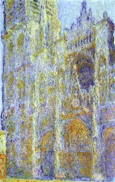 Claude Monet. The Rouen Cathedral at Noon (1894).