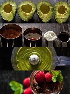 Avocado Chocolate Mousse {vegan & gluten-free}