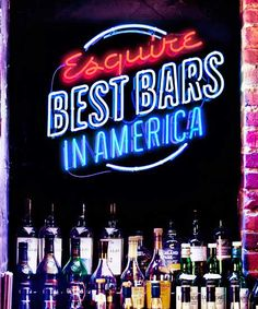 Best Bars in America 2012.  Yay for Indy's Ball & Biscuit and Cleveland's Velvet Tango Room