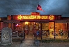 """This is the famous Broken Spoke in Austin. It's hosted some of country music's best and it is widely seen as the """"last of the true Texas dancehalls""""."""