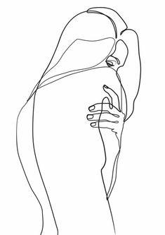 Minimalist Drawing, Minimalist Art, Art Sketches, Art Drawings, Line Drawing Art, Dress Sketches, Drawing Faces, Minimal Drawings, Line Art Tattoos