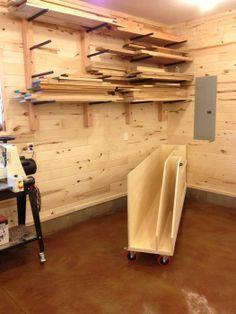 Wood Rack, Workshop, Scrap, Shops, Woodworking, Community, Storage, Ideas, Purse Storage