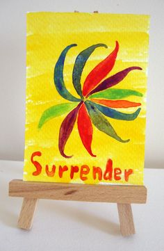ACEO Original One of a Kind Watercolor by ChanelledCreations, $11.00