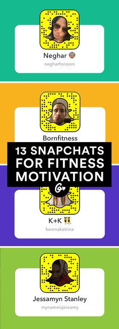 I MADE THE LIST! More than just another digital distraction. #snapchat #fitness http://greatist.com/move/snapchat-accounts-to-follow-for-fitness-motivation