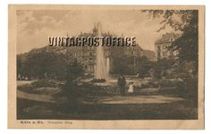 Köln am Rhein vintage postcard Deutcher ring door vintagepostoffice