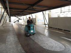 ISC Group ha offerto il proprio aiuto per ripulire la location di #Paratissima IX che si è tenuta agli ex-mercati generali di Torino